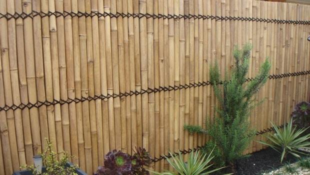 Bamboe afsluiting