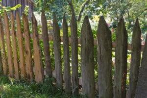 Landelijke en Klassie tuinafsluiting