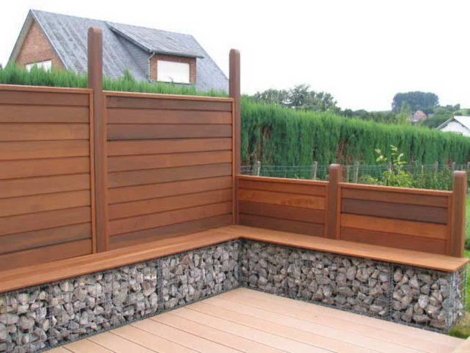 Mogelijkheden hardhout tuinscherm