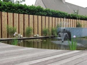 Bamboe afsluiting plaatsen prijs advies for Moderne afsluiting tuin