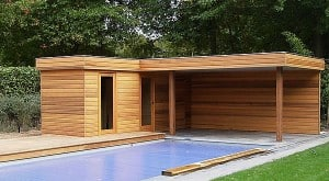 Druk geimpregneerd hout