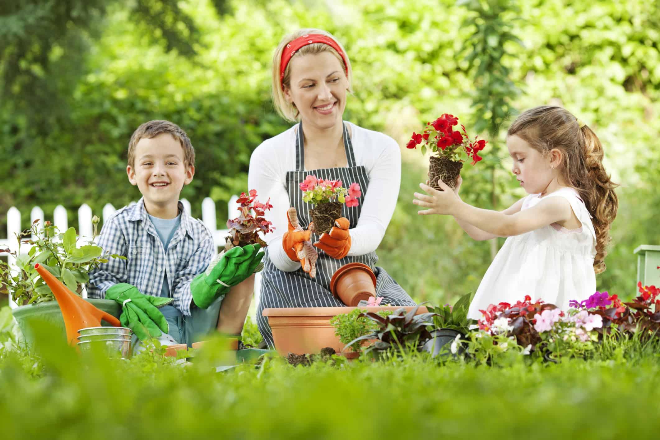 Waar moet je op letten om een kindvriendelijke tuin te hebben?