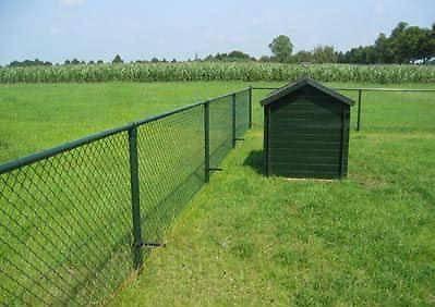 Groene tuinafsluiting: Draadafsluiting