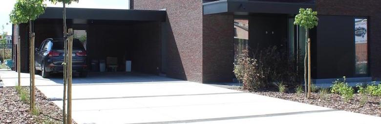 Betonplaten voor jouw tuin prijs soorten - Moderne tuin ingang ...